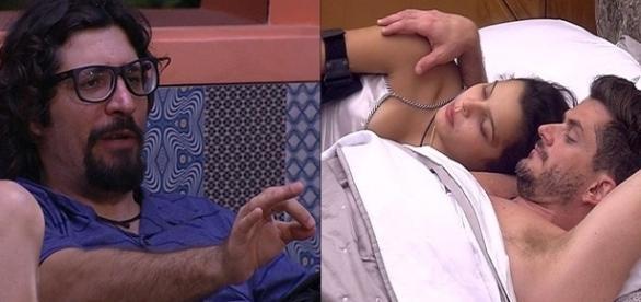Ilmar fala de caso de sexo com cadela. (foto: reprodução TV Globo)