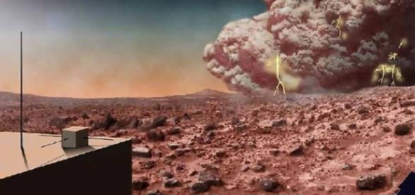 Mars Weather Forecast Calls for Massive Dust Storms -- smithsonianmag.com
