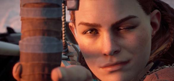 Aloy being amazingly cool.   gamespot.com