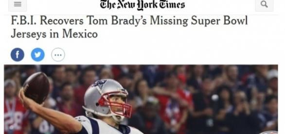 De Estados Unidos a China, en todo el planeta, medios no sólo deportivos dan cuenta del vergonzoso hurto