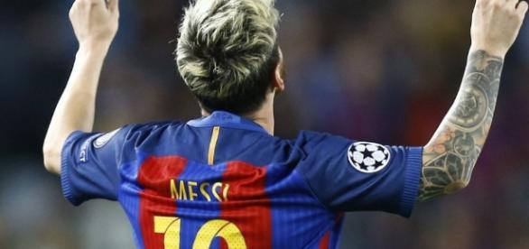Doblete y récord: Lionel Messi brilló ante Celtic e hizo historia ... - elintransigente.com