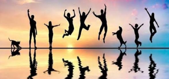 Imagen descriptiva de la felicidad familiar.