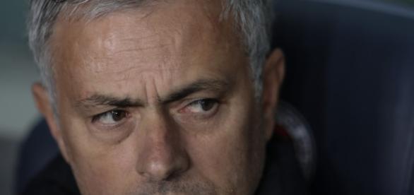 José Mourinho, técnico do Manchester