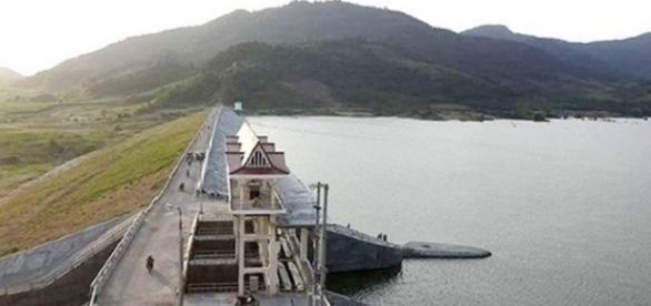 O reservatório de Suoi Vuc, no Vietnã.