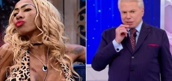 Silvio quer ver Inês Brasil pelada e disse que topa tirar a roupa para a gata