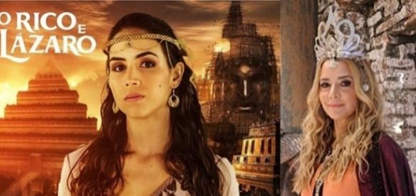 Em 'O Rico e Lázaro': Kassaia é morta pela amante do marido