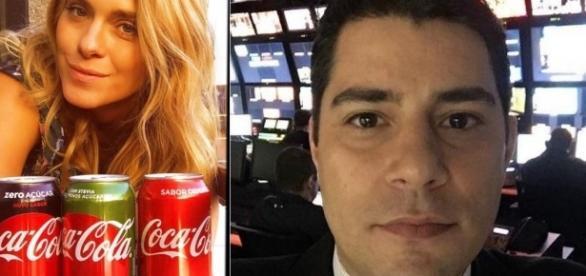 Evaristo Costa critica foto de Carolina Dieckmann e clima esquenta enter eles