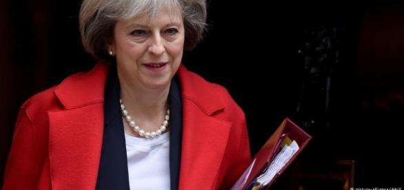 La primera ministra Theresa May. Public Domain.