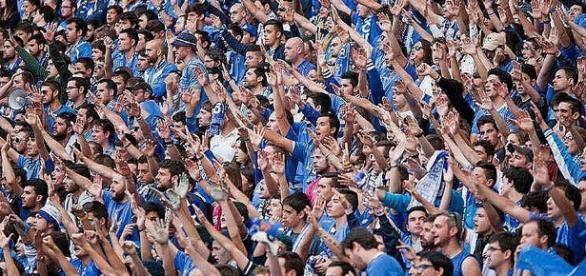 Los aficionados oviedistas celebran este fin de semana el 91 aniversario del club. Foto: La Voz de Asturias