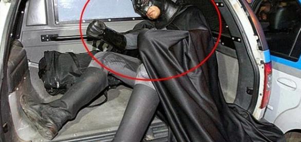 O homem era conhecido como Batman