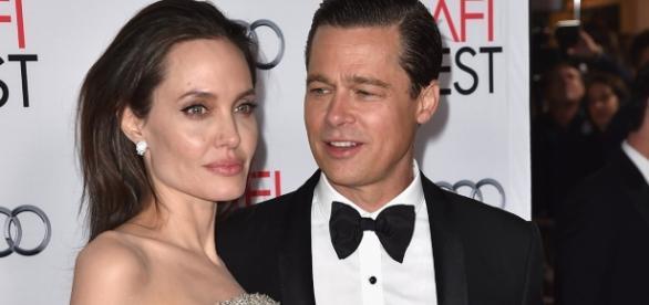 Angelina and Brad Pitt.................sourced via blasting news library
