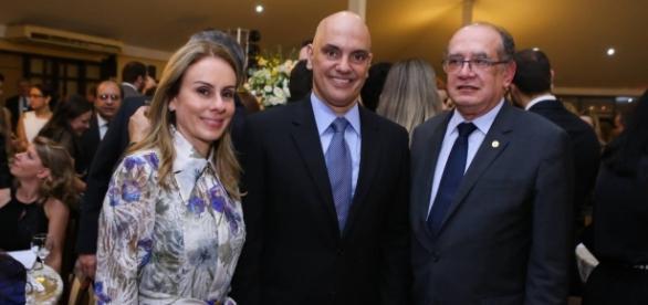 Confusão em posse de Alexandre de Moraes