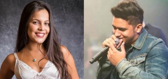 Emilly relembra o namoro com o cantor Juliano, que faz dupla com Henrique (Foto: Reprodução)