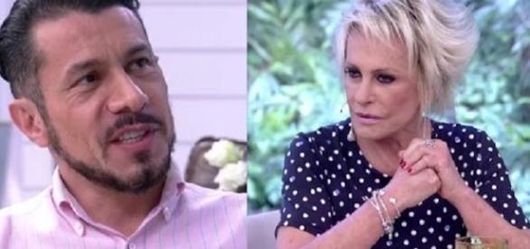 """Rômulo compareceu ao programa """"Mais Você"""",de Ana Maria Braga (Foto: Reprodução/Vídeo)"""