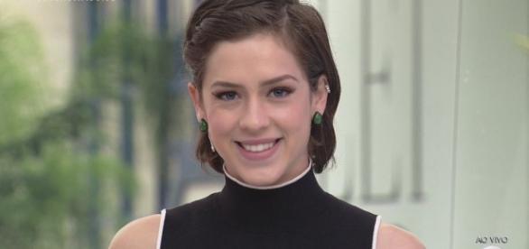 Sophia Abrahão volta ao Video Show
