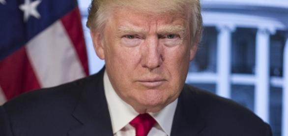 U.S. President Donald Trump in White House official photo./Photo via White House
