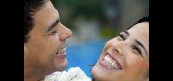 Zezé de Camargo e Wanessa fizeram as pazes