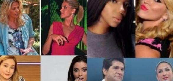Alguns famosos que não se dão bem