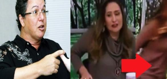 Boninho e Sônia Abrão - Imagem/Google