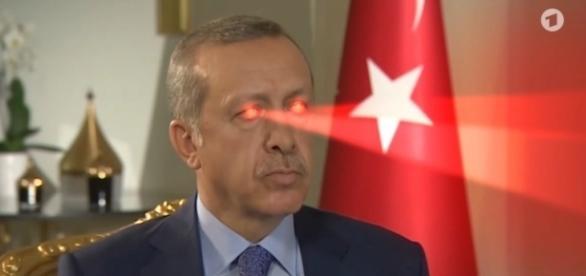 "Musikvideo über Erdogan im Satiremagazin ""extra3"" / Foto: NDR"