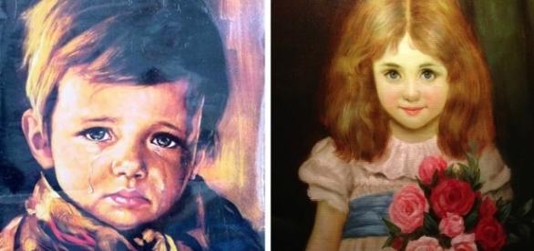 """Pinturas são tidas como """"sobrenaturais"""""""