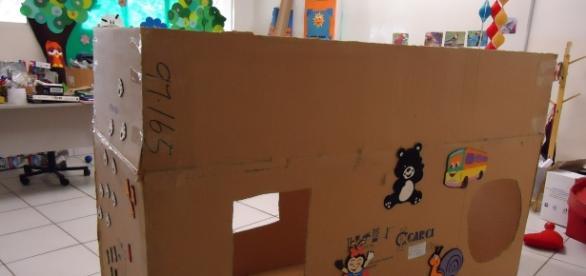 A imaginação é a base da brincadeira não estruturada. Fonte da imagem: http://jucimarsidney167.blogspot.com.br