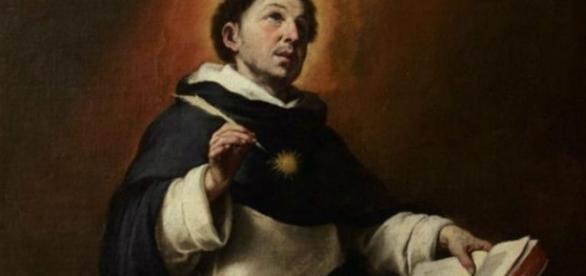 Desde criança São Tomás de Aquino só fala e escrevia sobre Deus. http://www.santuariodepousoalegre.com.br/sao-tomas-de-aquino/