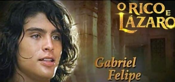 Em pouco tempo, Gabrile Felipe faz a diferença em 'O Rico e Lázaro'