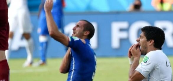 Foot Mondial 2014 - L'énorme explication de Suarez pour sa morsure ... - foot01.com