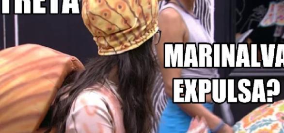 Marinalva dá mão na cara de Emilly e briga pode dar expulsão; vídeo