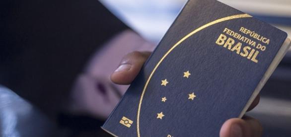 Passaporte oficial dos brasileiros