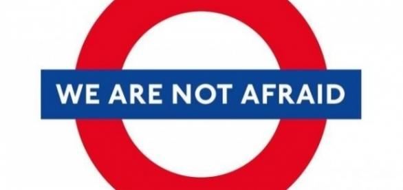 """We are not afraid"", simbolo della reazione"