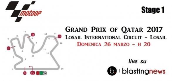 Il circuito internazionale di Losail è il teatro del primo appuntamento di MotoGp stagionale.