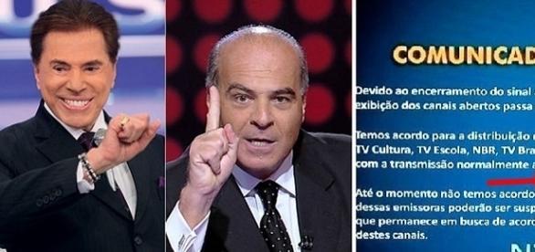 Silvio Santos também se recusa a fornecer conteúdo para TV fechada