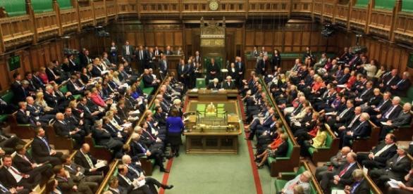 UK House of Commons. Image via Sputnik News.com