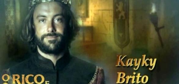 Ator Kayky Brito vive o príncipe Evil-Merodaque, em 'O Rico e Lázaro'