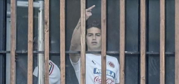 CHOC: James Rodriguez provoque un scandale en Colombie !