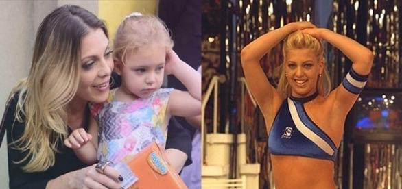 Ex-dançarina celebrou o aniversário de 4 anos da filha