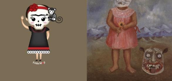 Frida Kahlo's Many Self Portraits Are Now Emoji, Or Rather ... - onebithost.net