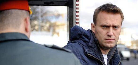 Il blogger Alexei Navalny arrestato di nuovo a Mosca