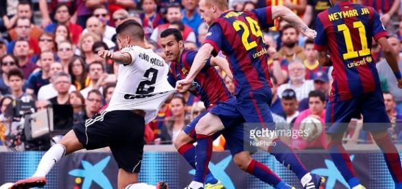 Spanish League Barcelona-Valencia Pictures | Getty Images - gettyimages.com
