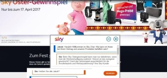 "Fragen zum Datenschutz beantwortet ""Jakob"" von Sky / Fotos: Sky.de"