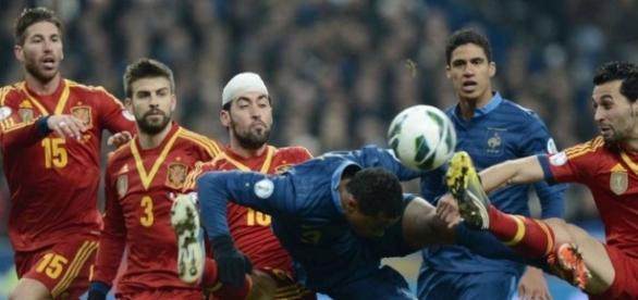 Francia vs España del año pasado