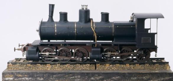 Les deux locomotives Mallet du train touristique de l'Ardèche ont été mises en service au XIX ème siècle