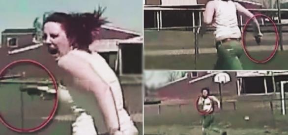 Mulher armada é atropela pela polícia - Google