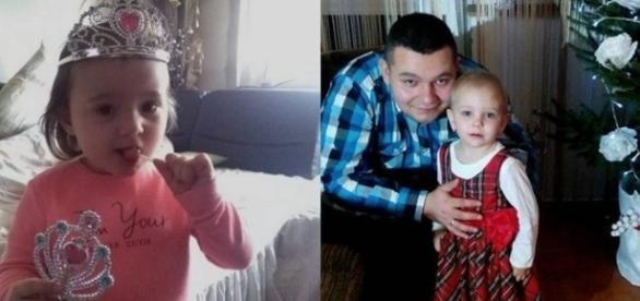 Na imagem o acusado juntamente com menina de apenas dois anos, que acabou morrendo.