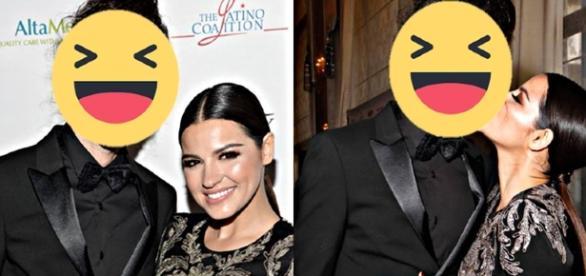 Namorado estranho de Maite Perroni vira piada na web