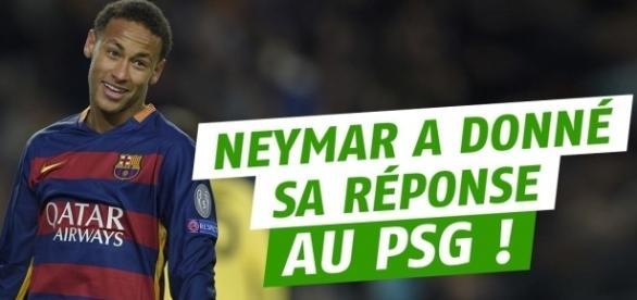 PSG transfert : Neymar a pris sa décision et donné sa réponse aux ... - gentside.com