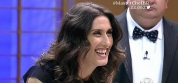 A chef de cozinha e jurada do Masterchef Brasil, Paola Carosella. Reprodução/Youtube.