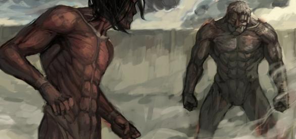 Attack on Titan chapter 92: Rogue/Attack Titan vss Armored Titan Part 3?